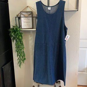 Westbound Jean Dress 1X